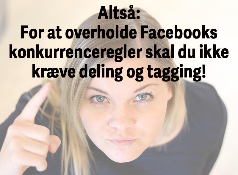 Facebooks-konkurrenceregler-omsummeret